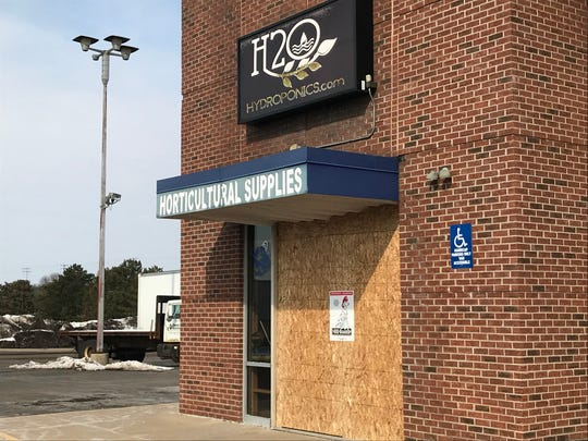 Police are investigating a robbery at H20 Hydroponics in Delta Township.