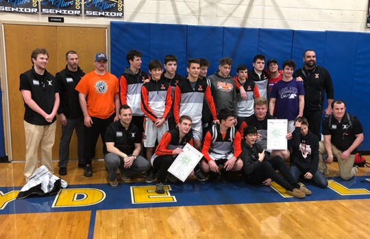 Ashland won a Division II sectional title at Clyde and is advancing nine wrestlers to the district meet at Norwalk