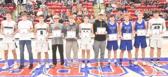 1A Region 2 boys' all-tournament team