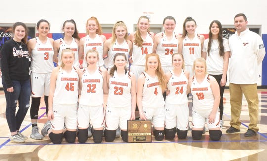 The Viola Lady Longhorns won the 1A Region 2 Championship on Saturday night at Hillcrest.