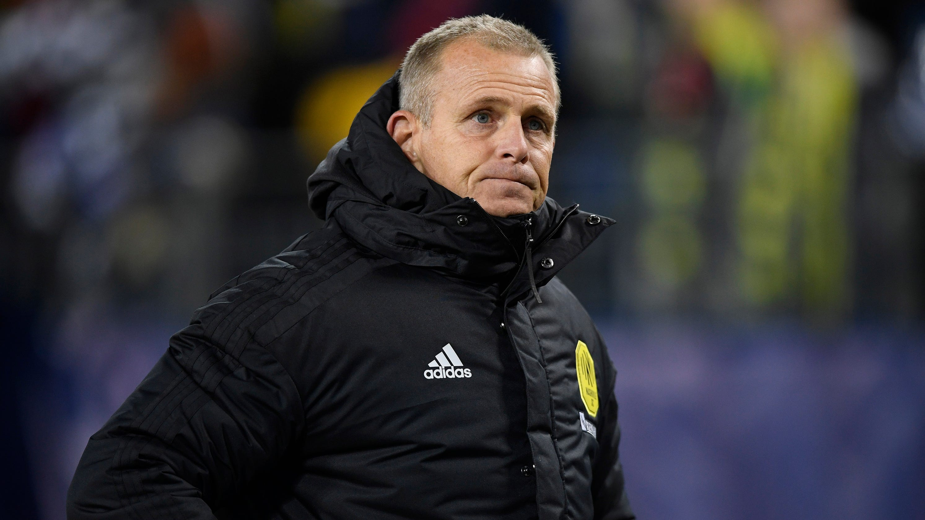 Nashville SC coach Gary Smith discusses COVID-19 test scare, return to sideline on Sunday