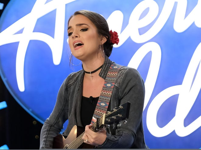 Lauren Mascitti, of Dickson County, auditions for American Idol in Savannah, Ga. Mascitti's audition airs in March on ABC.