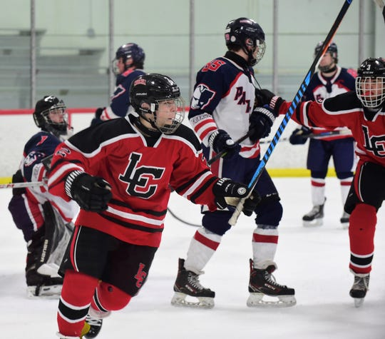 Churchill hockey could not find the back of the net against Chelsea in the regional final, like Nick Liebau  did against Franklin in the semifinal.