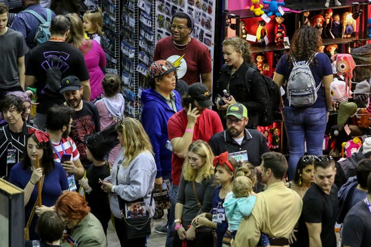 The 7th annual Pensacon-Pensacola Comic Con, featuring hundreds of actors, artists, wrestlers, producers, and more,   comes to a close on Sunday, March 1, 2020.