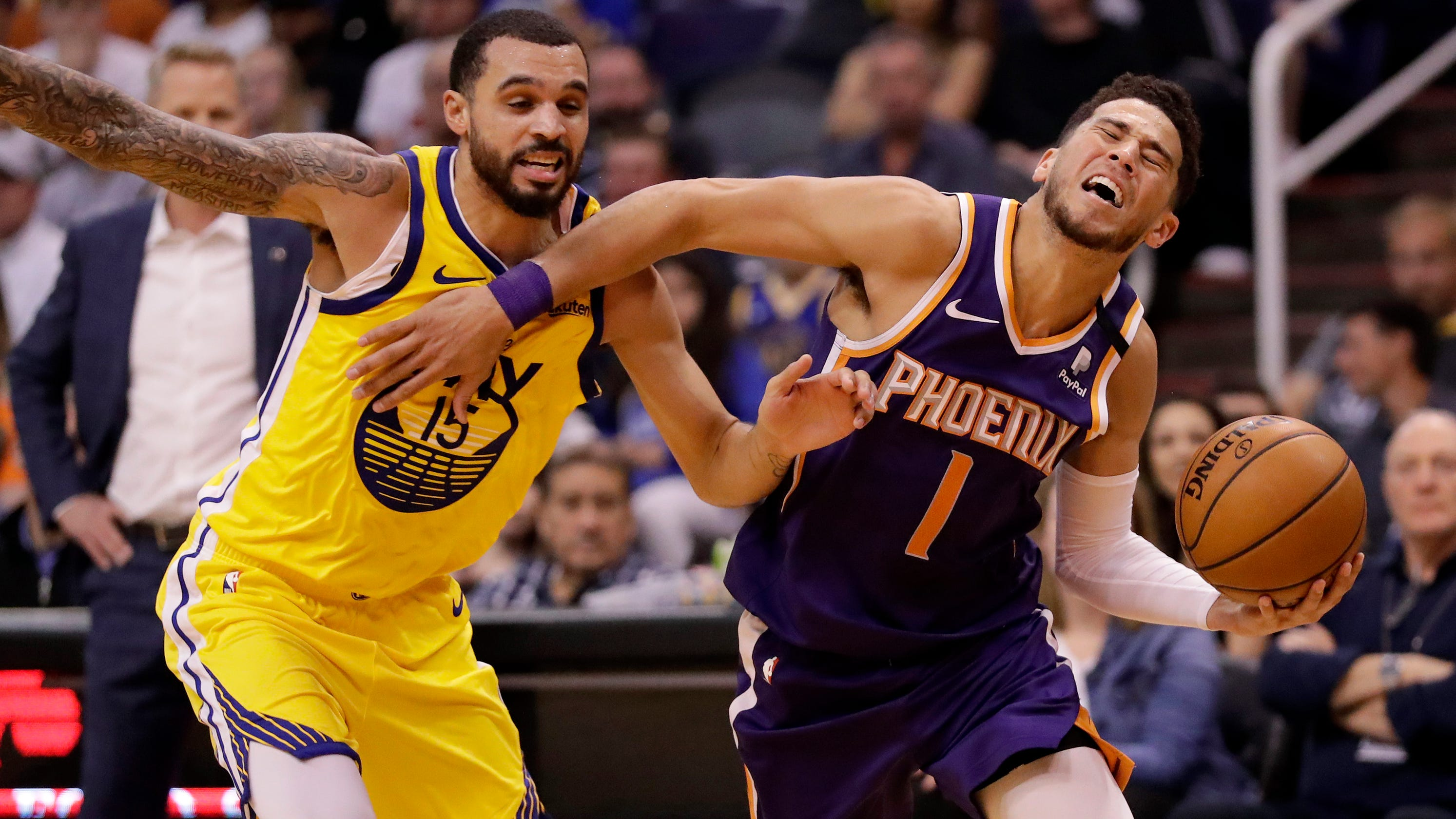 Phoenix Suns Phoenix Suns fall in embarrassing fashion to Golden State Warriors