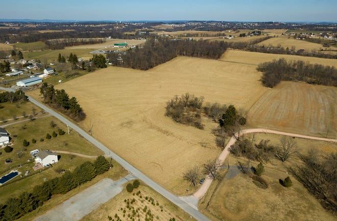 A fertilizer company is asking North Hopewell Township to rezone an agricultural property to commercial on Deer Road.Sunday, March 1, 2020.John A. Pavoncello photo