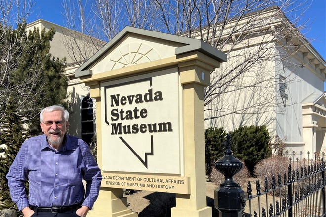 Bob Nylen is retiring after 36 years with the Nevada State Museum.