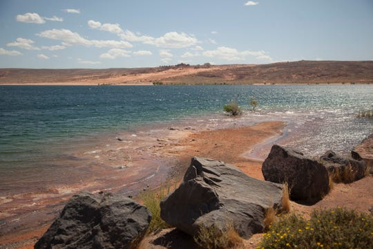 Sand Hollow Reservoir Tuesday, Sept. 10, 2019.