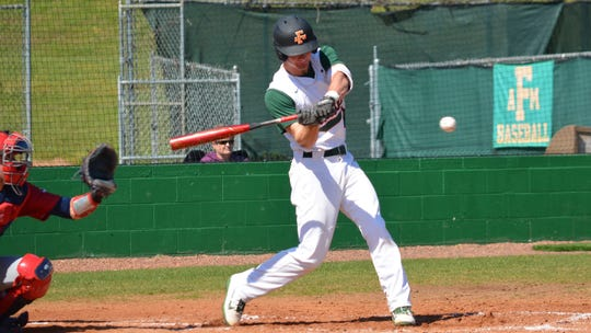 FAMU freshman infielder Camden Hart went 1 for 2 with an RBI in the 6-5 win over Dayton on Sunday, March 1, 2020.