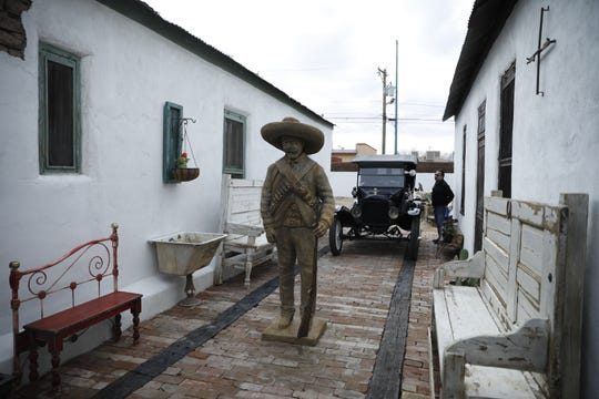 A building once used as a stash house by Pancho Villa and his brother Hipólito during the Mexican Revolution is under renovation. El Pasoans were given a tour of the building on Saturday.