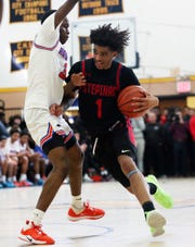 Stepinac's R.J. Davis (1) was named Gatorade's New York Player of the Year.