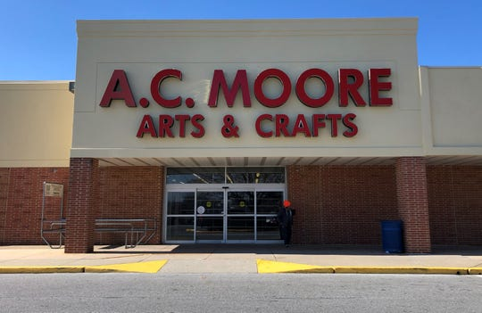 The A.C. Moore Arts & Crafts on Kirkwood Highway in Milltown closed last week as part of a companywide shutdown.