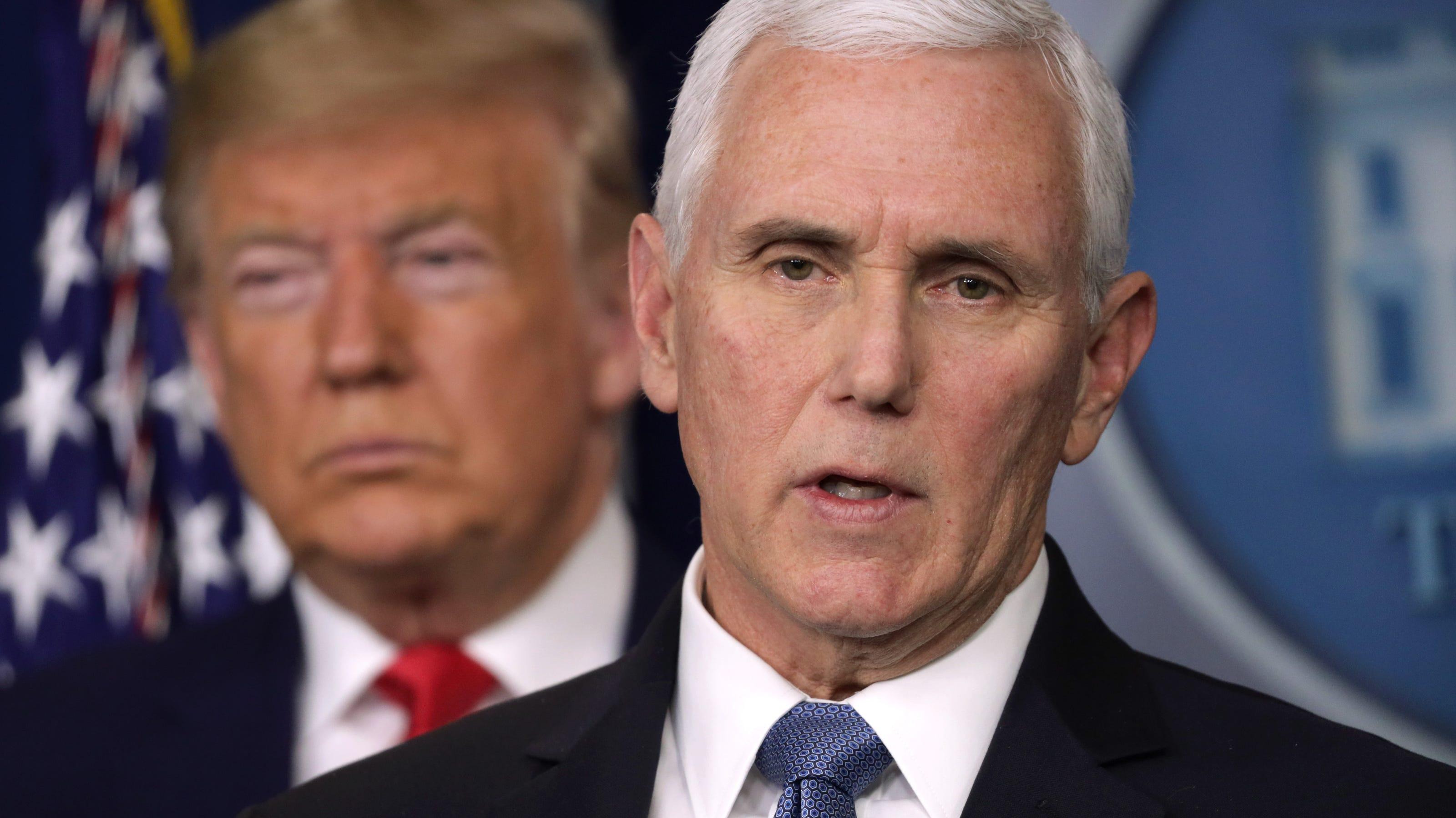 Mike Pence defends Trump Jr., Rush Limbaugh coronavirus comments