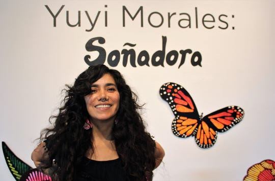 "Yuyi Morales' exhibition at the National Center for Children's Illustrated Literature is titled ""Sonadora,"" which means dreamer in Spanish. She got a first look Monday."