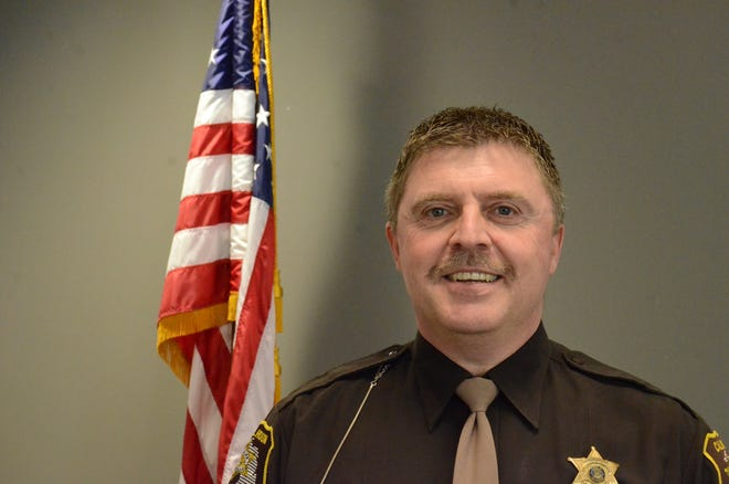 Det. Sgt. Steve Hinkley is the only candidate seeking appointment as sheriff.