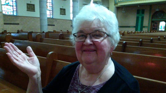 Marie Lukasik is a long-time parishioner and volunteer at Church of the Holy Trinity in Binghamton.