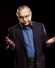Comedian Lewis Black will stop by the Forum Theatre Thursday evening.