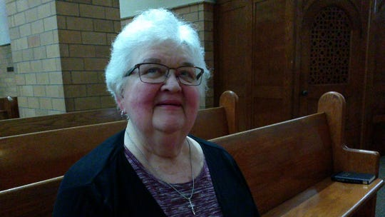 Marie Lukasik is a longtime volunteer of Church of the Holy Trinity in Binghamton.