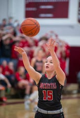 Buckeye Central's Taylor Ratliff leads her team into regional tournament action this week.