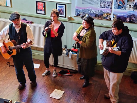 The Vermont band O'hAnleigh plays March 7 as part of the Burlington Irish Heritage Festival.