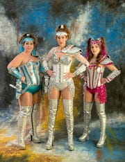 """""""Saucy Jack and the Space Vixens"""" runs March 5-7 at ArtsRiot."""