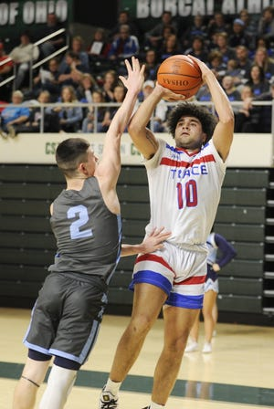 Zane Trace senior Cam Evans, who scored more than 1,600 career points, will play college basketball at Otterbein University.