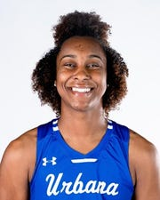 Tyra James of Winton Woods is the Mountain East Conference Player of the Year for Urbana
