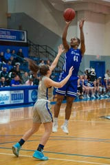 Tyra James of Winton Woods won Mountain East Conference Player of the Year for Urbana this season as a senior