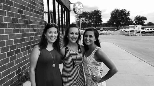 """Sisters Jasmine Gaston, Jade Ewoldt, and Baylee Hess.  After Baylee Nicole Hess, 26, of La Porte City died in a crash Nov. 30, 2019 at the intersection of Highway 30 and 21st Avenue in Benton County, her family, friends, and Iowans across the state are fighting for a bill they are calling """"Baylee's Bill"""" to add more rumble strips at intersections in rural areas."""