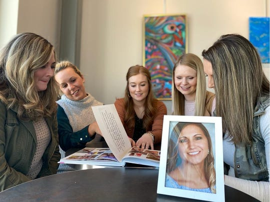 Baylee's sister, Jade Ewoldt, and her friends Zoie Feuerbach, Michaela Lund, Kaley Grosse, and Skye Warren remembering the life of Baylee Nicole Hess, 26, of La Porte City, who died in a crash Nov. 30, 2019 at the intersection of Highway 30 and 21st Avenue in Benton County.