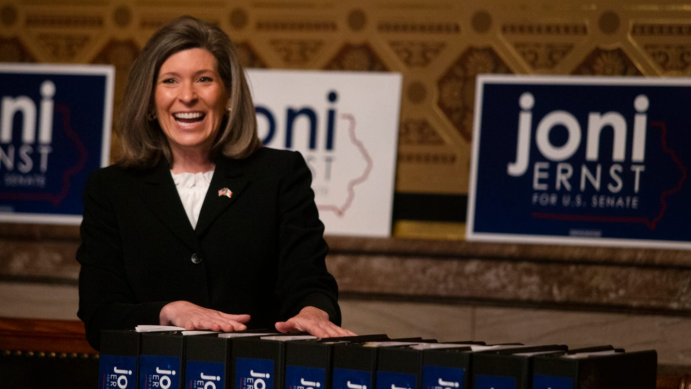 Joni Ernst to President Trump: Accept the Republican nomination in Des Moines, not the White House