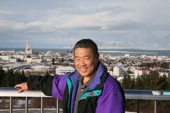 Robert Taenaka, a battery czar at Ford Motor Co. with expertise in space projects, travels to Reykjavik, Iceland in February 2020. This photo was taken Feb. 28, 2020.