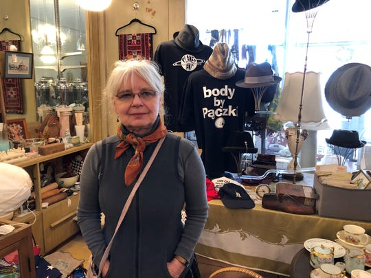 Karen Majewski's vintage clothing shop, Hamtramck's Tekla Vintage, began by chance.