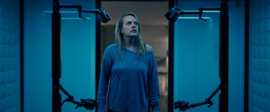 """Elisabeth Moss in a scene from """"The Invisible Man."""""""
