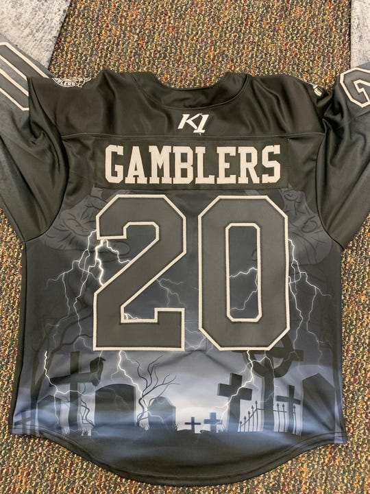 Green Bay Gamblers players will be wearing these jerseys for Heavy Metal Night. They'll be auctioned off after the game.