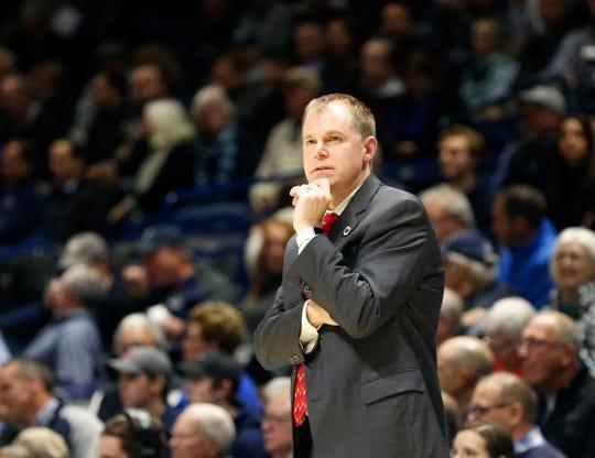 Western Carolina coach Mark Prosser