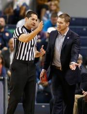UNC Asheville coach Mike Morrell