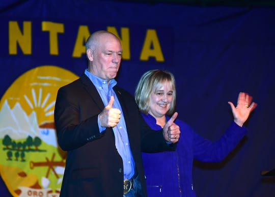 U.S. Rep. Greg Gianforte announced Great Falls lawyer Kristen Juras as his running mate in the GOP primary election for Montana governor during an event Sunday at the Pub Station in Billings.