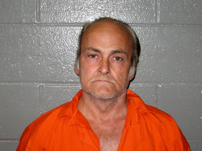 This 2010 photo provided by the Yavapai County, Ariz., Sheriff's Department shows Thomas Steven Sanders.