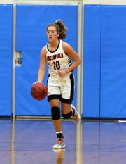 Greenfield's Tess Darby is averaging17.8 points, 6.4 rebounds and 2.1 steals this season.