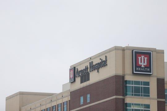 IU Health Arnett, Monday, March 2, 2020 in Lafayette.