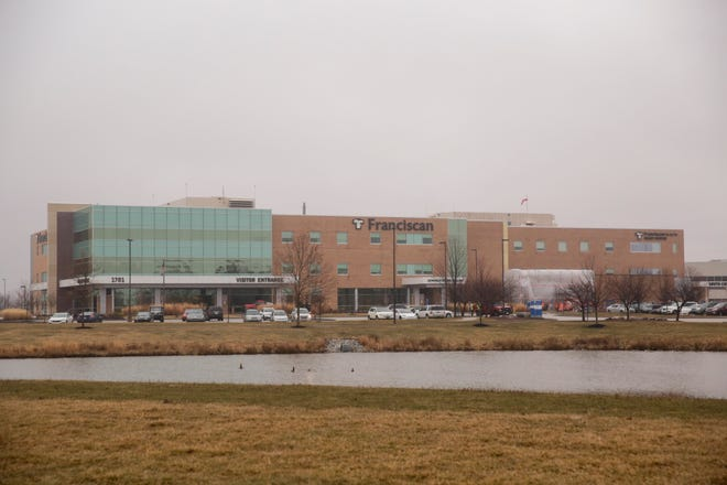 Franciscan Health Lafayette East hospital, Monday, March 2, 2020 in Lafayette.