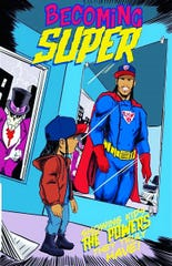 """Chef Darnell Ferguson has written a comic book to inspire kids to become a good person while pursuing their passion called """"Becoming Super."""""""