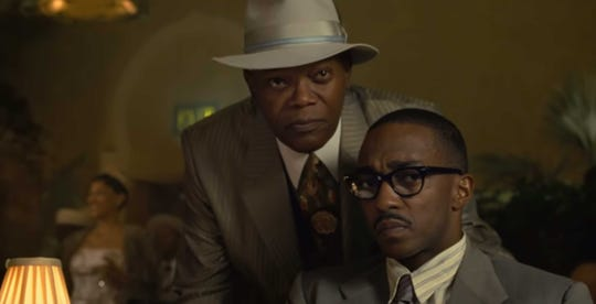 "Samuel L. Jackson and Anthony Mackie star in ""The Banker."""