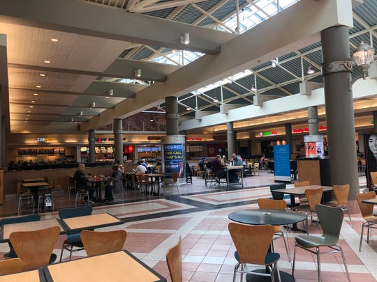 The food court at Mayfair mall was the site of a fight involving 35 individuals on Saturday, Feb. 29, 2020.