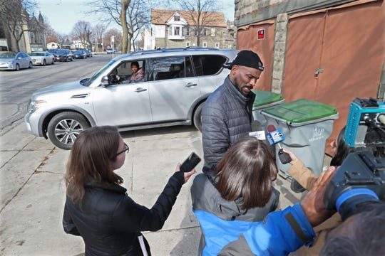 Harold Johnson, the brother-in-law of the man shot by Milwaukee police outside Lounge 340 at 340 W. Reservoir Ave. spoke about what happened that night.