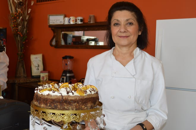 """Rosemarie Patterson owns Hillside Coffee House in Oak Creek. Food was something she """"always wanted to do."""""""