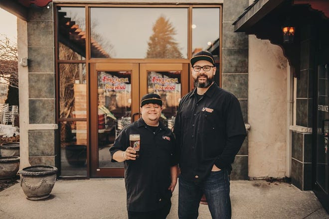 Nathanial Fakler and Ben Mantay will open Faklandia Brewing at the former 42 Ale House in St. Francis.