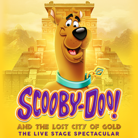 """""""Scooby-Doo! and the Lost City of Gold: The Live Stage Spectacular"""" is coming to the Riverside Theater on May 13."""