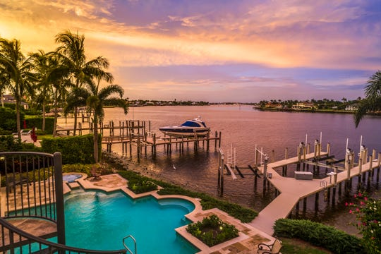 Whether you own your own boat or charter, imagine living in year-round paradise along Naples Bay! This luxury home, located in Port Royal on Galleon Drive in Naples, Fla. includes a private dock and more.